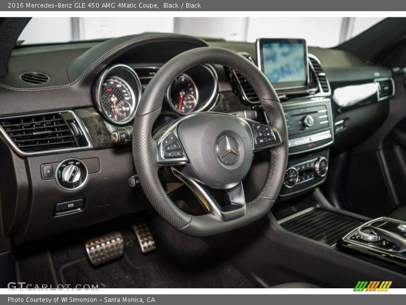 Black / Black 2016 Mercedes-Benz GLE 450 AMG 4Matic Coupe