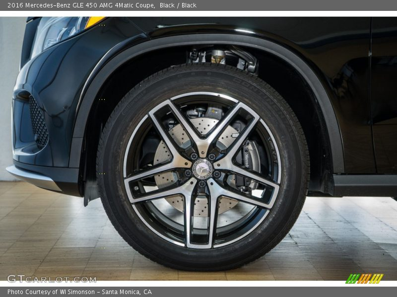 2016 GLE 450 AMG 4Matic Coupe Wheel