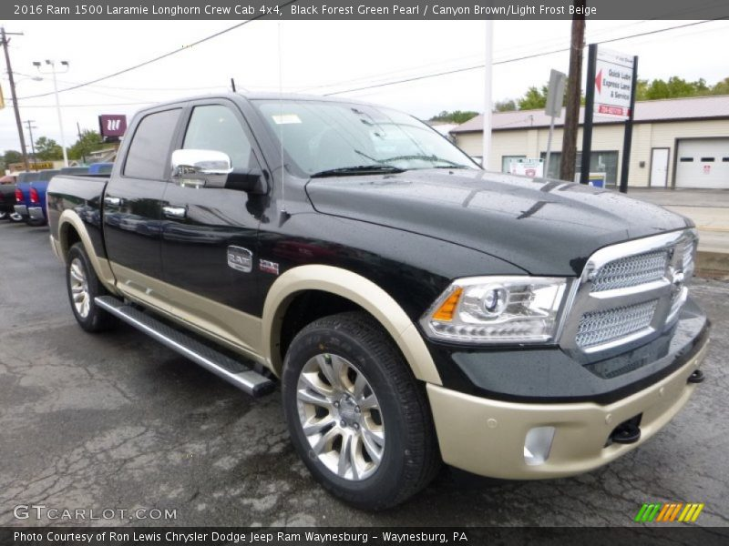 2016 ram 1500 laramie longhorn crew cab 4x4 in black. Black Bedroom Furniture Sets. Home Design Ideas