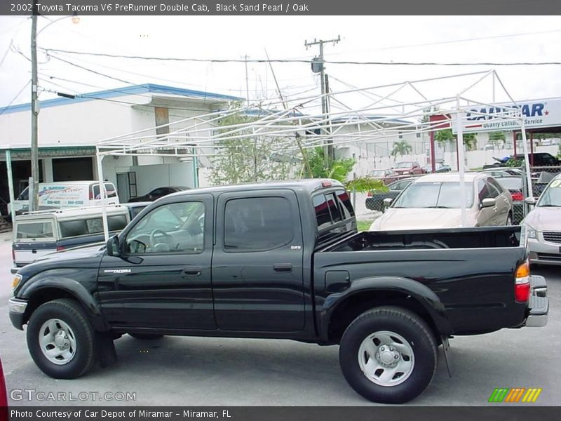 2002 toyota tacoma v6 prerunner double cab in black sand pearl photo no 10801937. Black Bedroom Furniture Sets. Home Design Ideas