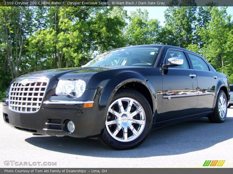 2009 chrysler 300 c hemi walter p chrysler executive series in brilliant black photo no. Black Bedroom Furniture Sets. Home Design Ideas