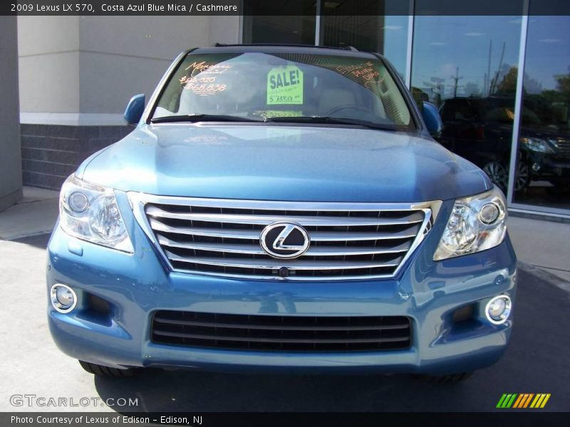 2009 lexus lx 570 in costa azul blue mica photo no. Black Bedroom Furniture Sets. Home Design Ideas