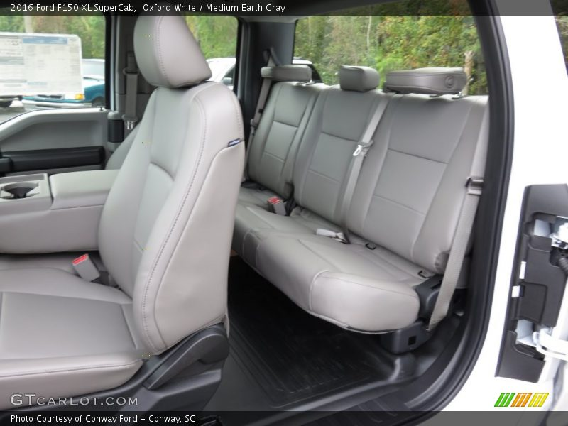 Vin Decoder Ford >> 2016 F150 XL SuperCab Medium Earth Gray Interior Photo No ...