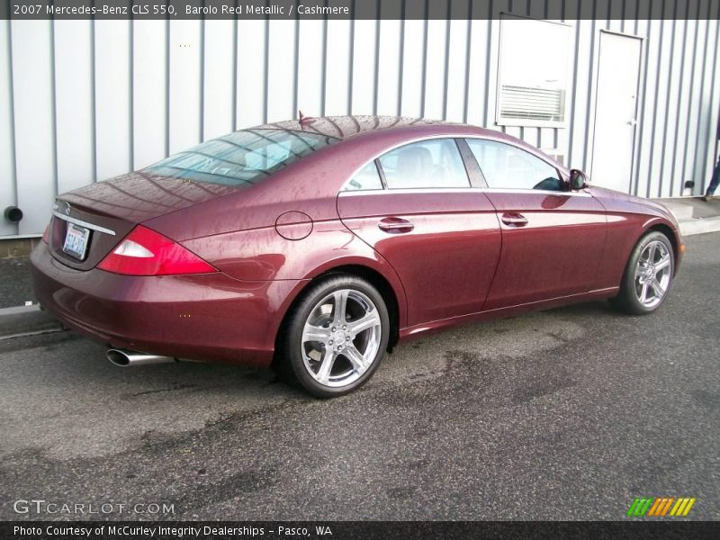 2007 mercedes benz cls 550 in barolo red metallic photo no for 2007 mercedes benz cl 550
