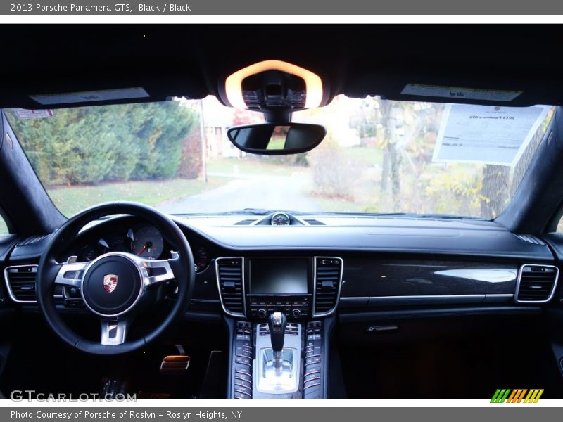 Black / Black 2013 Porsche Panamera GTS