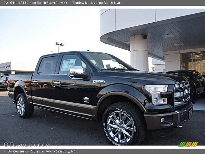 Front 3/4 View Of 2016 F150 King Ranch SuperCrew 4x4 Photo