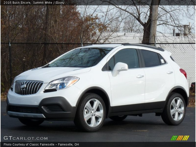 Front 3/4 View of 2016 Encore