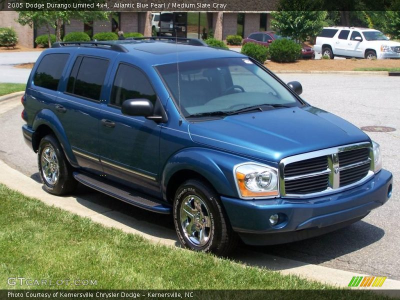 2005 dodge durango limited 4x4 in atlantic blue pearl. Black Bedroom Furniture Sets. Home Design Ideas