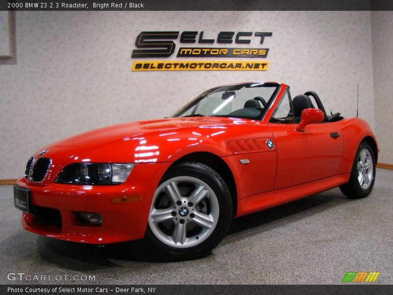2000 bmw z3 2 3 roadster in bright red photo no 11063424. Black Bedroom Furniture Sets. Home Design Ideas