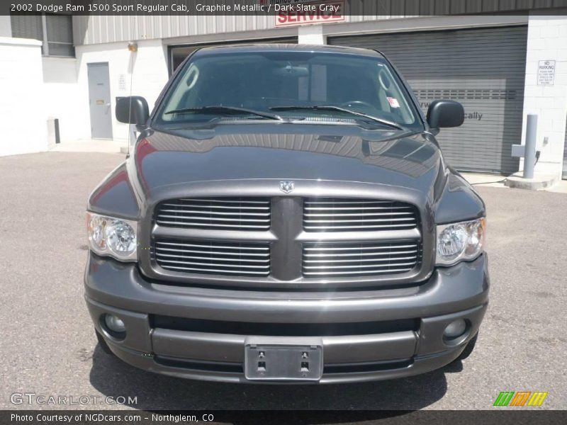 2002 dodge ram 1500 sport regular cab in graphite metallic photo no 11071351. Black Bedroom Furniture Sets. Home Design Ideas