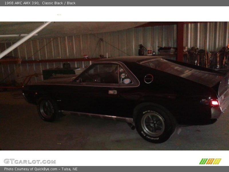 Classic Black / Black 1968 AMC AMX 390