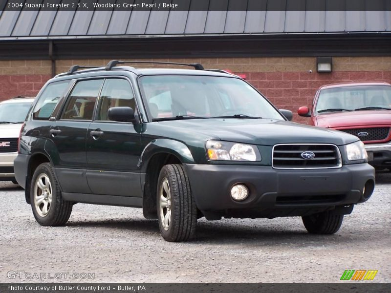 2004 subaru forester 2 5 x in woodland green pearl photo no 11201480. Black Bedroom Furniture Sets. Home Design Ideas