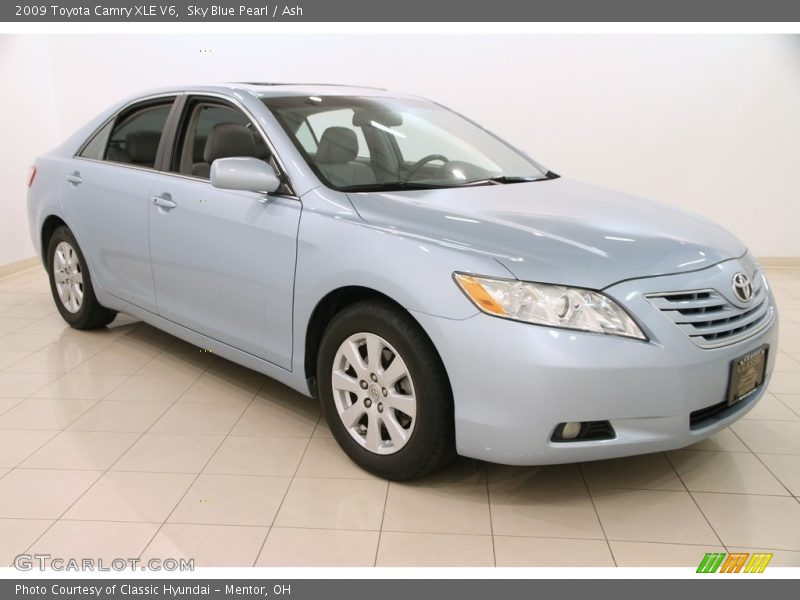 2009 toyota camry xle v6 in sky blue pearl photo no 112320633. Black Bedroom Furniture Sets. Home Design Ideas