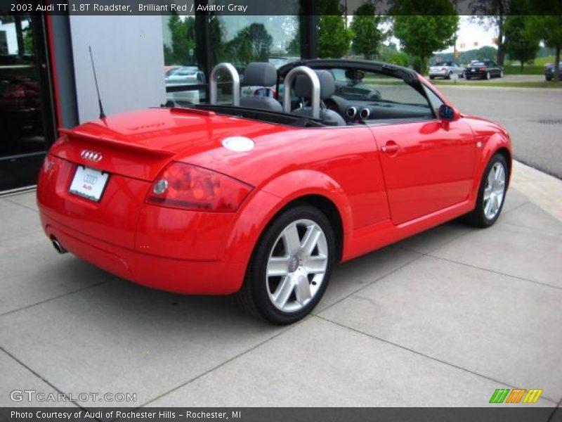 2003 Audi Tt 1 8t Roadster In Brilliant Red Photo No