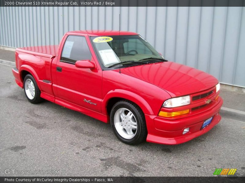 2000 chevrolet s10 xtreme regular cab in victory red photo no 1130242. Black Bedroom Furniture Sets. Home Design Ideas