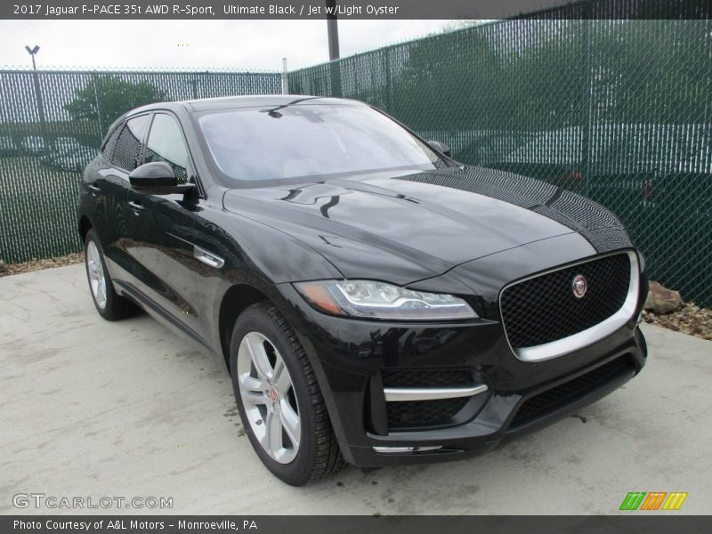 front 3 4 view of 2017 f pace 35t awd r sport photo no 113065082. Black Bedroom Furniture Sets. Home Design Ideas