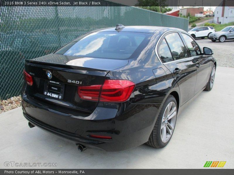 Jet Black / Black 2016 BMW 3 Series 340i xDrive Sedan