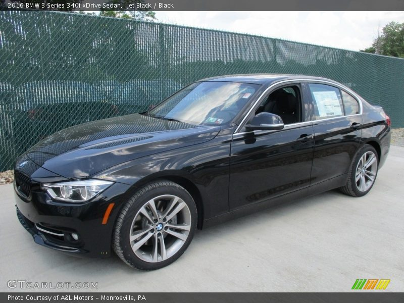 Jet Black / Black 2016 BMW 3 Series 340i xDrive Sedan