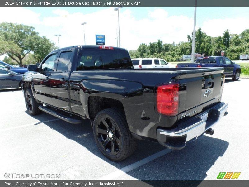 Black / Jet Black/Dark Ash 2014 Chevrolet Silverado 1500 LT Double Cab