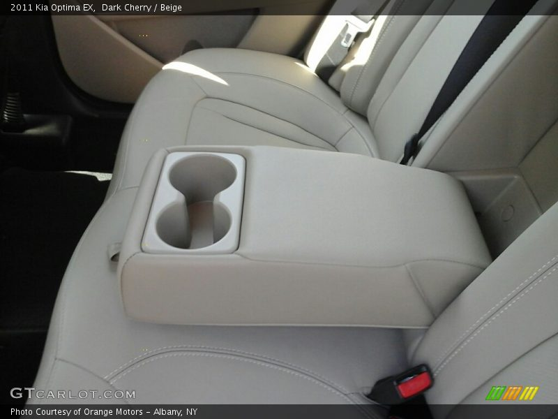 Dark Cherry / Beige 2011 Kia Optima EX