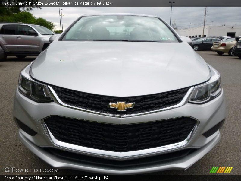 Silver Ice Metallic / Jet Black 2016 Chevrolet Cruze LS Sedan