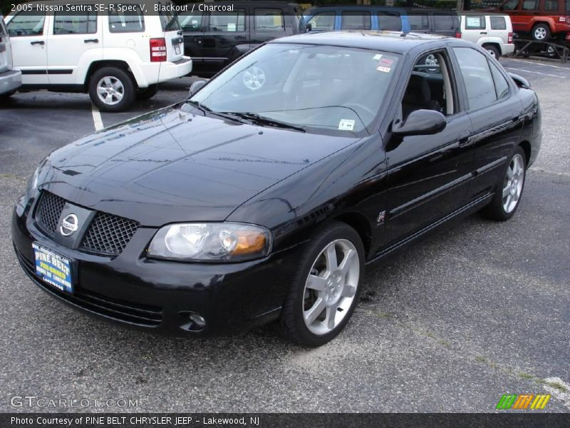 2005 nissan sentra se r spec v in blackout photo no 11389045. Black Bedroom Furniture Sets. Home Design Ideas