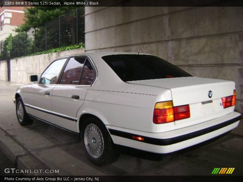 1989 Bmw 5 Series 525i Sedan In Alpine White Photo No