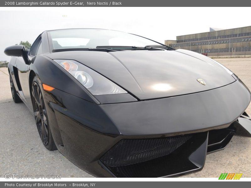 Nero Noctis / Black 2008 Lamborghini Gallardo Spyder E-Gear
