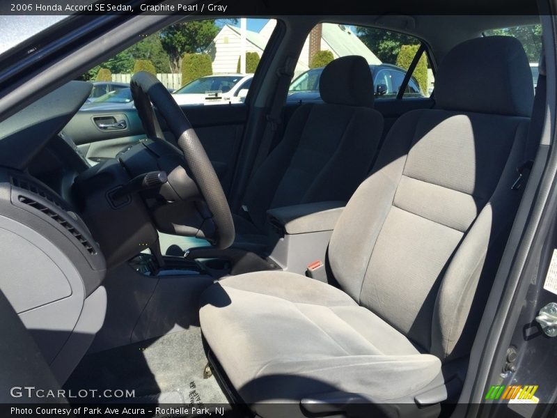 Graphite Pearl / Gray 2006 Honda Accord SE Sedan