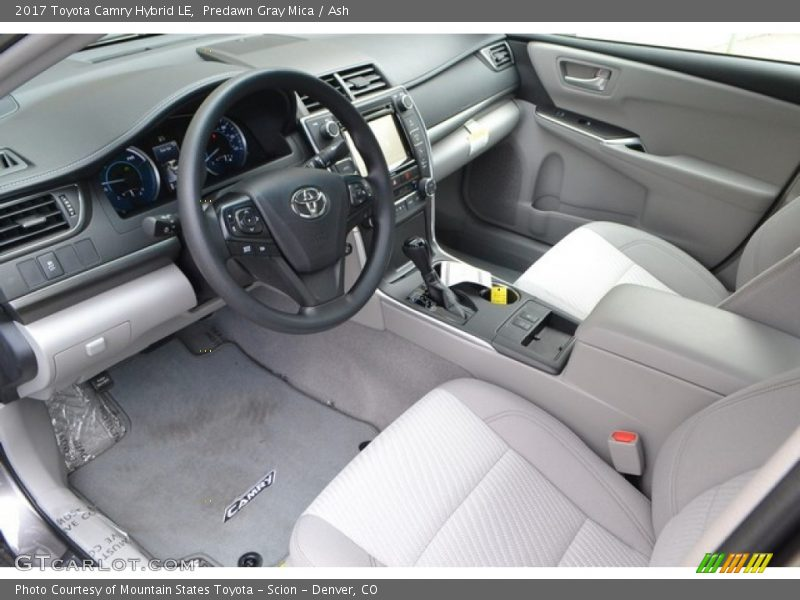 2017 Camry Hybrid Le Ash Interior Photo No 115377459