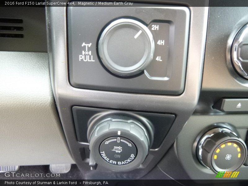 Magnetic / Medium Earth Gray 2016 Ford F150 Lariat SuperCrew 4x4