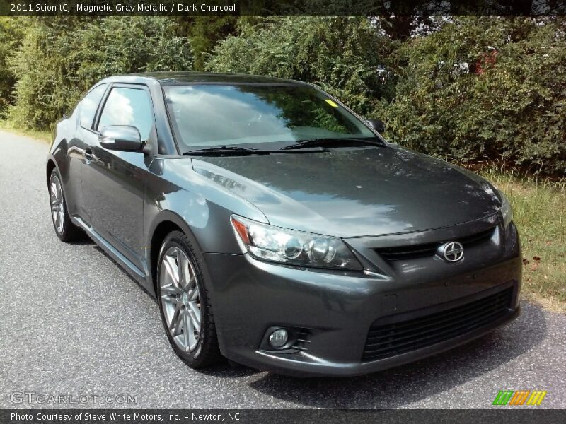 Magnetic Gray Metallic / Dark Charcoal 2011 Scion tC