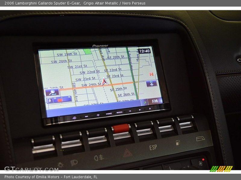 Navigation of 2006 Gallardo Spyder E-Gear