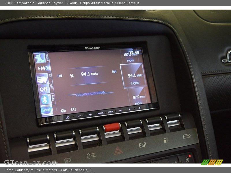 Controls of 2006 Gallardo Spyder E-Gear