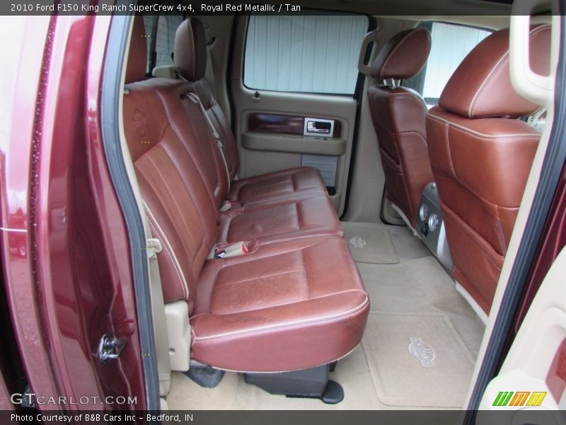 Rear Seat of 2010 F150 King Ranch SuperCrew 4x4