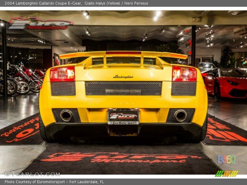 Giallo Halys (Yellow) / Nero Perseus 2004 Lamborghini Gallardo Coupe E-Gear