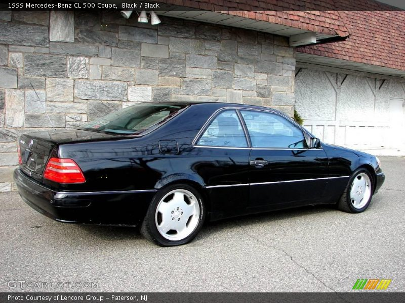 1999 mercedes benz cl 500 coupe in black photo no. Black Bedroom Furniture Sets. Home Design Ideas