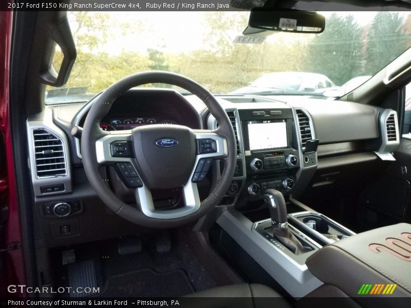 Dashboard of 2017 F150 King Ranch SuperCrew 4x4