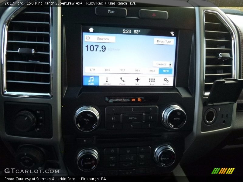 Controls of 2017 F150 King Ranch SuperCrew 4x4