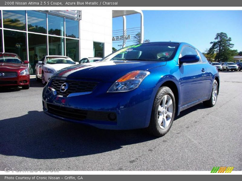 2008 nissan altima 2 5 s coupe in azure blue metallic photo no 11687432. Black Bedroom Furniture Sets. Home Design Ideas