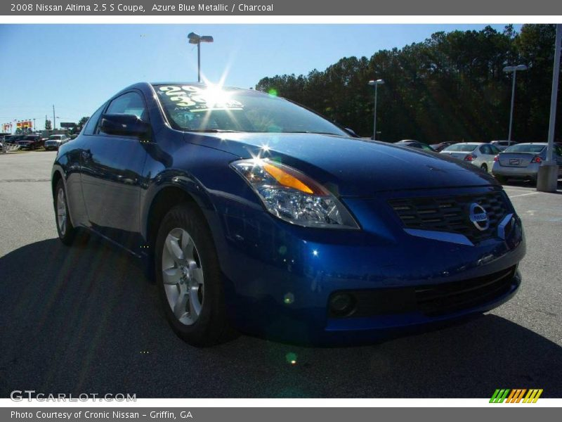 2008 nissan altima 2 5 s coupe in azure blue metallic photo no 11687472. Black Bedroom Furniture Sets. Home Design Ideas