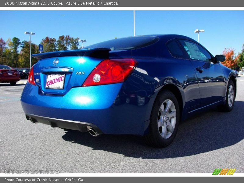 2008 nissan altima 2 5 s coupe in azure blue metallic photo no 11687507. Black Bedroom Furniture Sets. Home Design Ideas