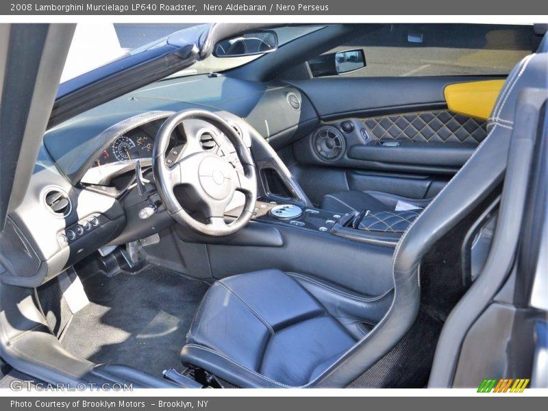 Nero Aldebaran / Nero Perseus 2008 Lamborghini Murcielago LP640 Roadster