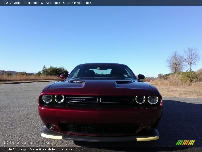2017 dodge challenger r t scat pack in octane red photo no 117133328. Black Bedroom Furniture Sets. Home Design Ideas
