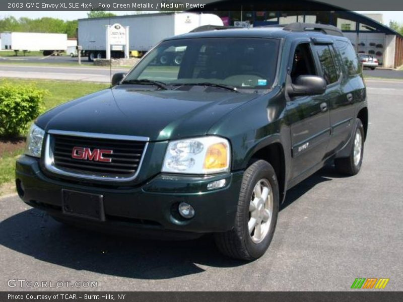 2003 gmc envoy xl sle 4x4 in polo green metallic photo no. Black Bedroom Furniture Sets. Home Design Ideas