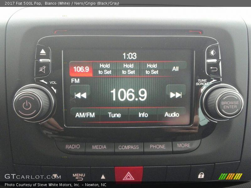 Controls of 2017 500L Pop