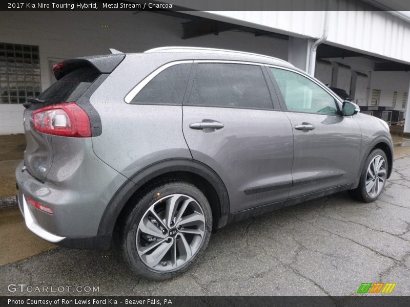 Metal Stream / Charcoal 2017 Kia Niro Touring Hybrid