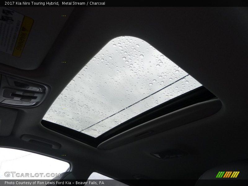 Metal Stream / Charcoal 2017 Kia Niro Touring Hybrid
