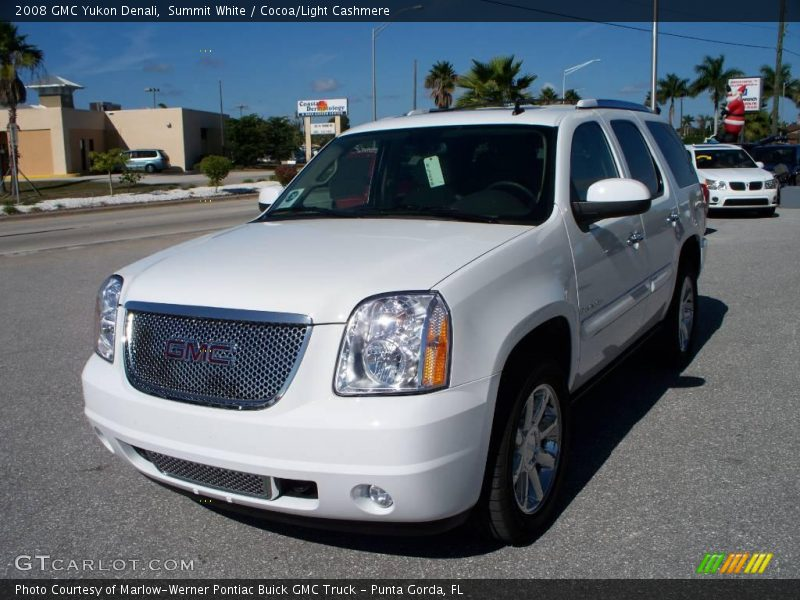 2008 gmc yukon denali in summit white photo no 1196912. Black Bedroom Furniture Sets. Home Design Ideas