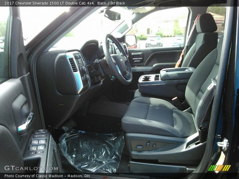 Black / Jet Black 2017 Chevrolet Silverado 1500 LT Double Cab 4x4